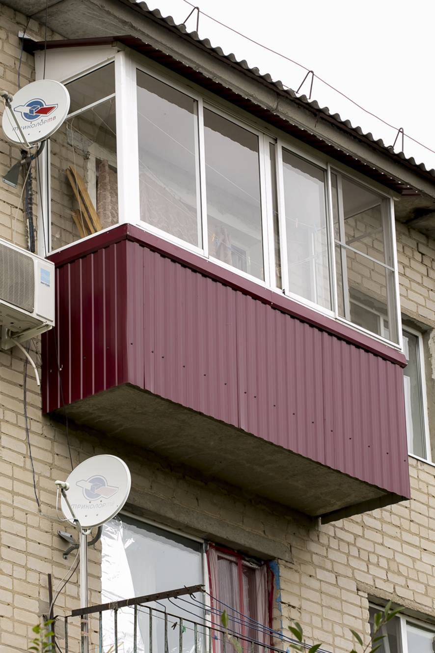 Остекление лоджий и балконов в воронеже: цены на остекление.