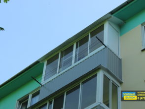 Остекление балкона на 5 этаже